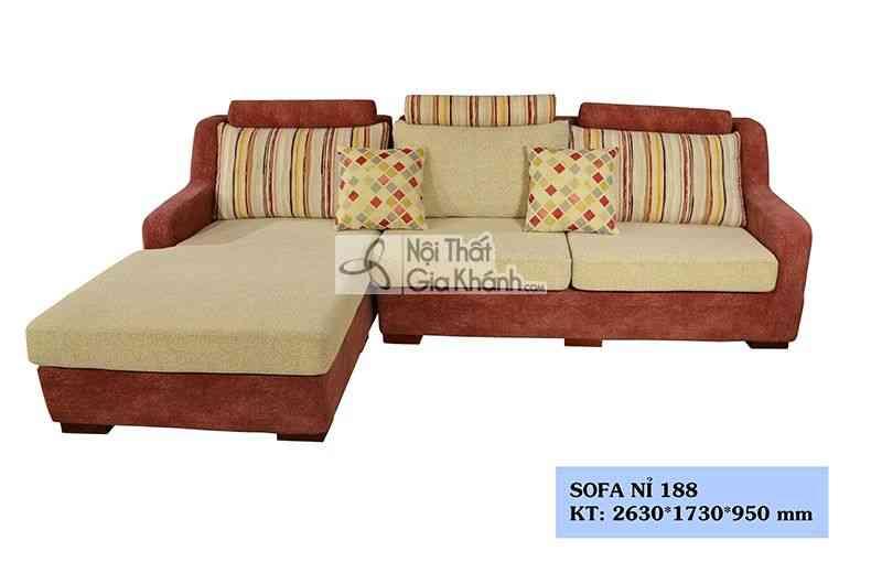 Những mẫu sofa phòng khách đẹp giá lại rẻ tại Hà Nội - Sofa phong khach dep gia re tai ha noi 1