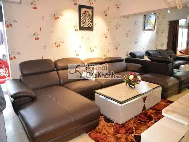 Những mẫu sofa phòng khách đẹp giá lại rẻ tại Hà Nội - Sofa phong khach dep gia re tai ha noi 3