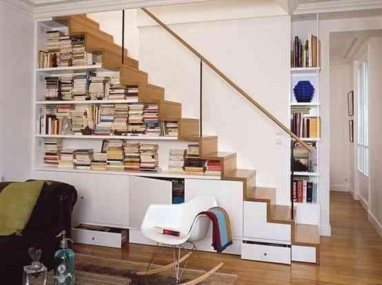 Tủ sách nhỏ cho nhà chung cư, nhà diện tích nhỏ