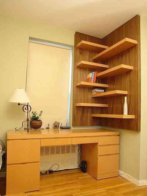 Tủ sách nhỏ cho nhà chung cư, nhà diện tích nhỏ - Tu sach nho cho nha nho 3