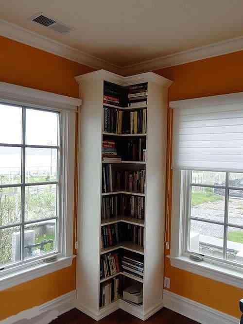 Tủ sách nhỏ cho nhà chung cư, nhà diện tích nhỏ - Tu sach nho cho nha nho 4