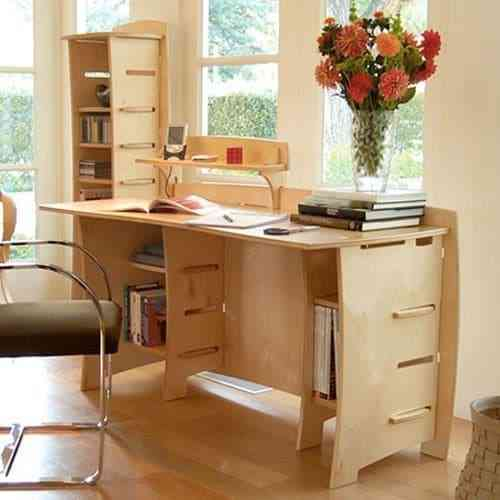 Tủ sách nhỏ cho nhà chung cư, nhà diện tích nhỏ - Tu sach nho cho nha nho 5