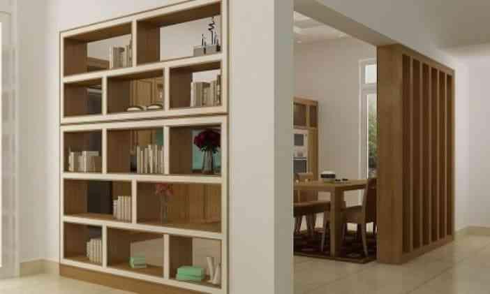 Tủ sách nhỏ cho nhà chung cư, nhà diện tích nhỏ - Tu sach nho cho nha nho 6
