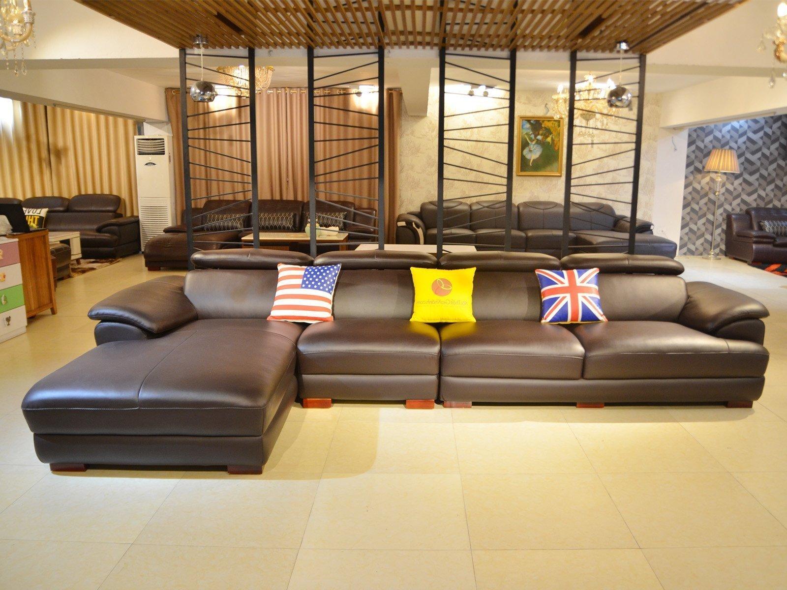 Sofa da góc chữ L cao cấp 3 băng nhập khẩu SF933-3B - Untitled 5 1