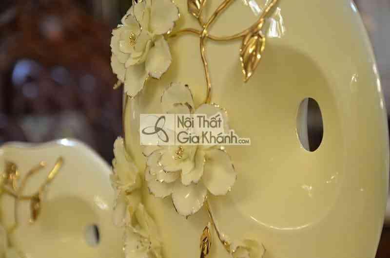 Bình trang trí sứ xương cao cấp A1039-2 - a1039 2 2