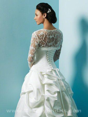 Các mẫu váy cưới được các cô dâu săn đón nhất mùa cưới 2018 – 2019 - ao choang ren