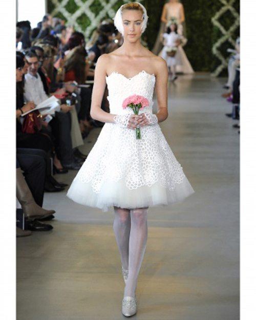 Các mẫu váy cưới được các cô dâu săn đón nhất mùa cưới 2018 – 2019 - ao cuoi ngan