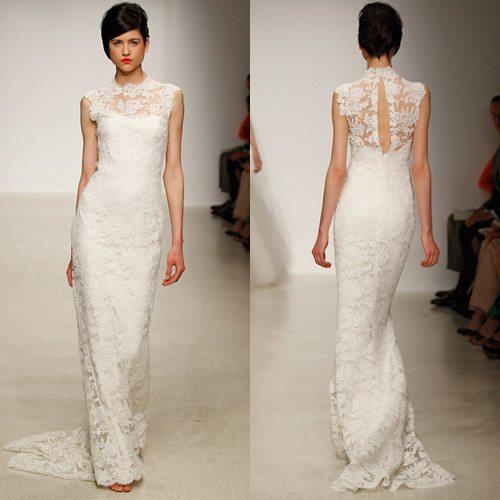 Các mẫu váy cưới được các cô dâu săn đón nhất mùa cưới 2018 – 2019 - ao cuoi ren
