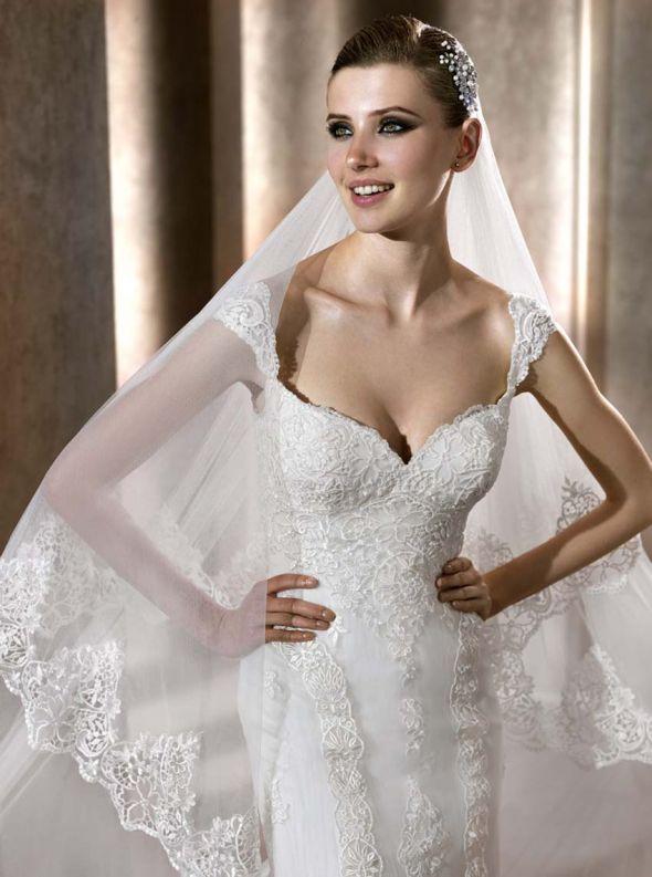 Các mẫu váy cưới được các cô dâu săn đón nhất mùa cưới 2018 – 2019 - ao cuoi tay ngan