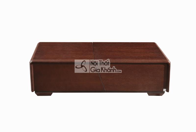 Bàn trà kệ tivi đồng bộ gỗ nhập khẩu TV1801-13
