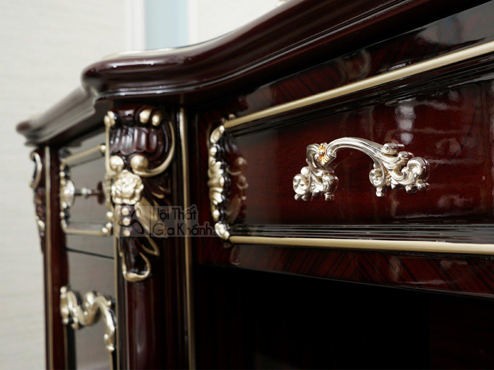 ban trang dien G8802C - Bộ bàn trang điểm bằng gỗ cao cấp BD8802G