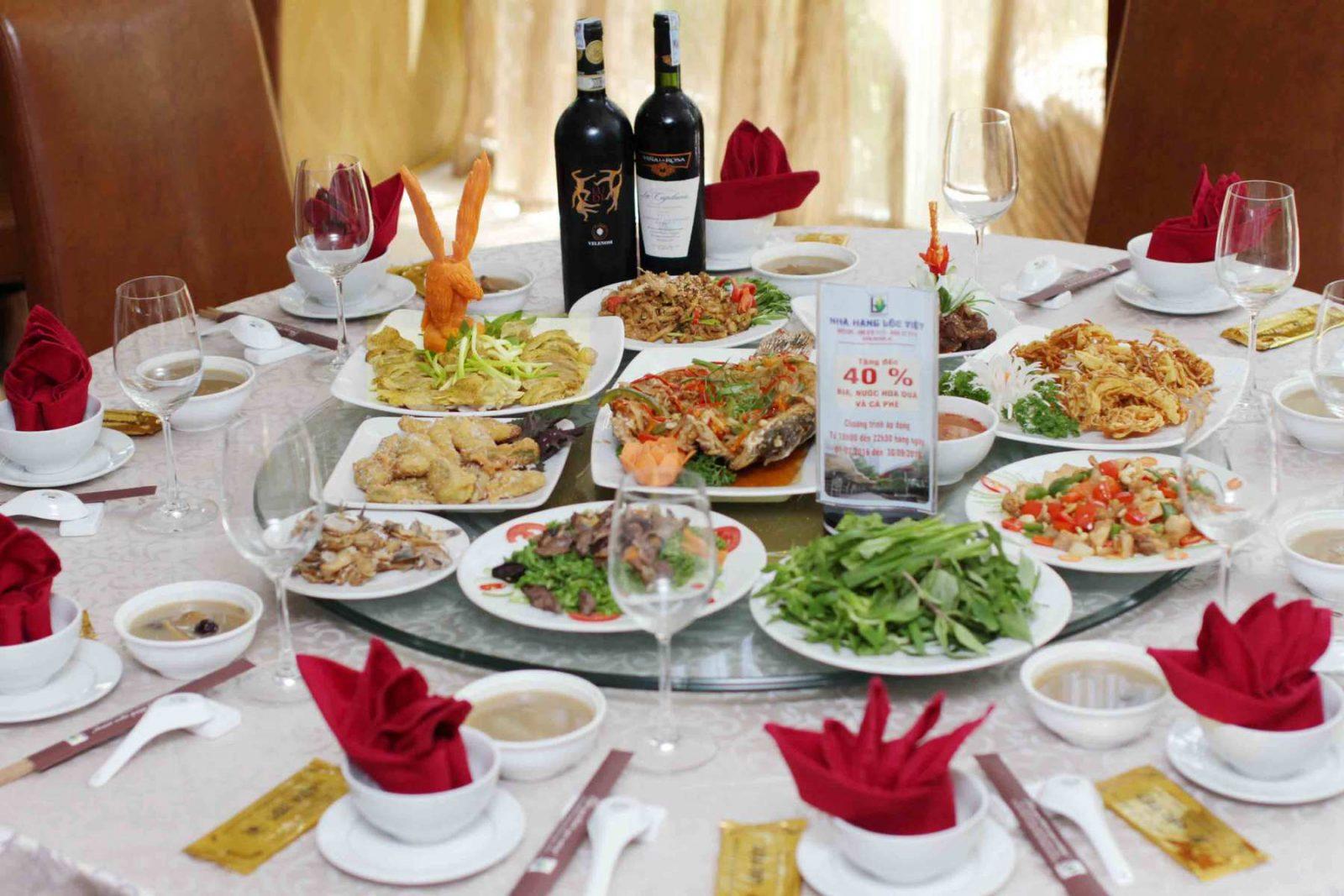 Tham khảo các thực đơn tiệc cưới sang trọng mùa cưới 2018 – 2019 - bi quyet chon thuc don