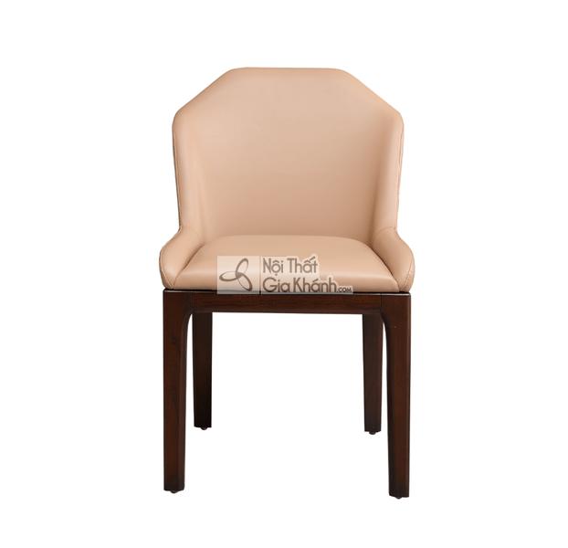 Ghế ăn gỗ bọc da nhập khẩu cao cấp GA1801