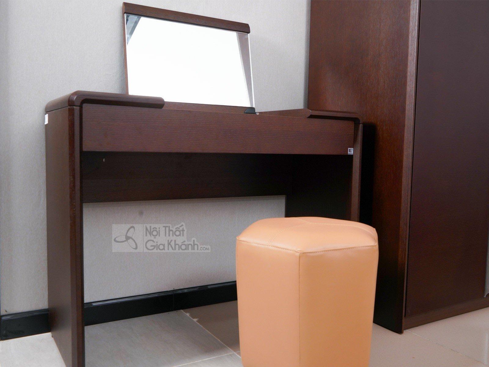 bo giuong ngu go hien dai nhap khau bn1801cn 18 3 - Bộ bàn trang điểm hiện đại thông minh gỗ cao cấp BD1802