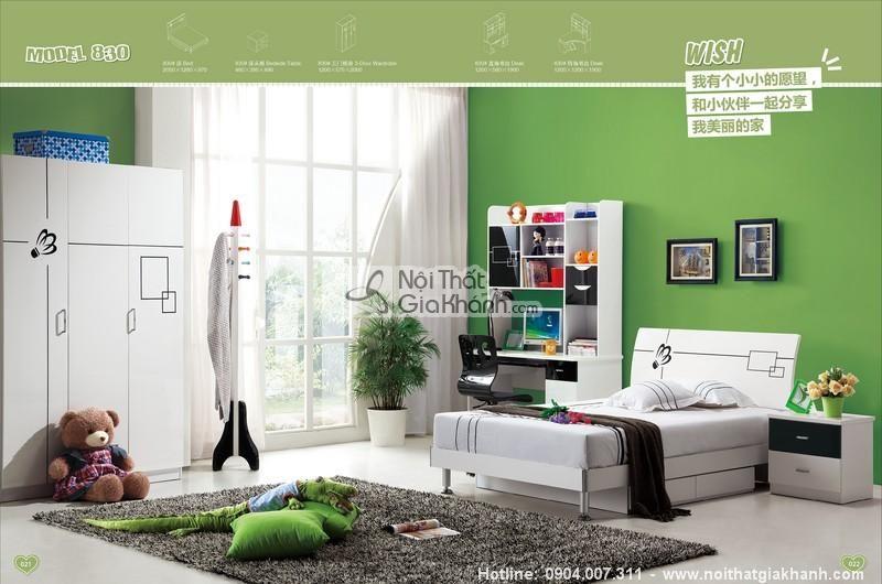 Những mẫu giường tủ trẻ em giá rẻ mà đẹp cho bé yêu - bo phong ngu giac mo bay xa H830 800x530