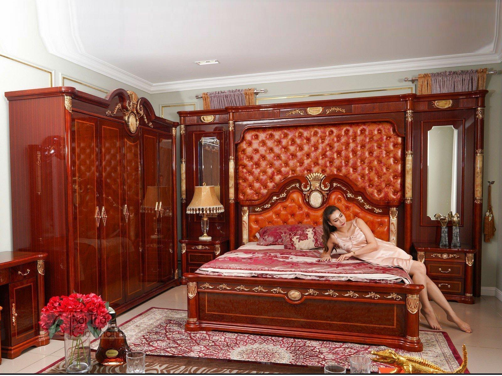 Táp đầu giường nhập khẩu KH509B - bo phong ngu tan co dien 509BG 3