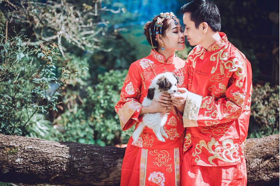Những tấm hình cưới trung hoa đẹp