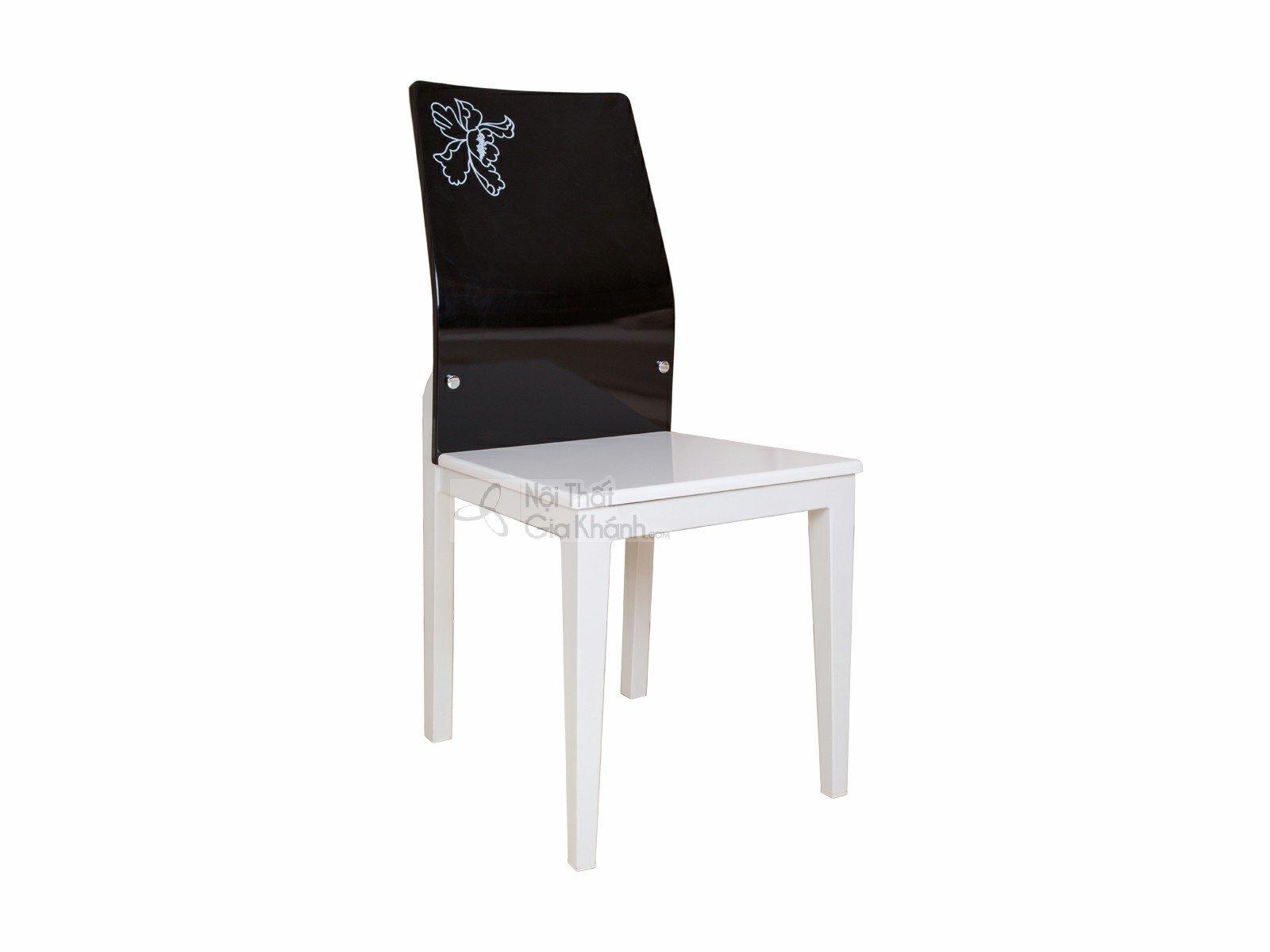 Ghế học gỗ công nghiệp màu đen đẹp CY01032 - ghe an CY01032