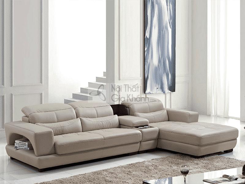 Ghế sofa da thật: đẳng cấp chỉ dành cho những người biết tiêu tiền - ghe sofa da that dang cap chi danh cho nhung nguoi biet tieu tien 2