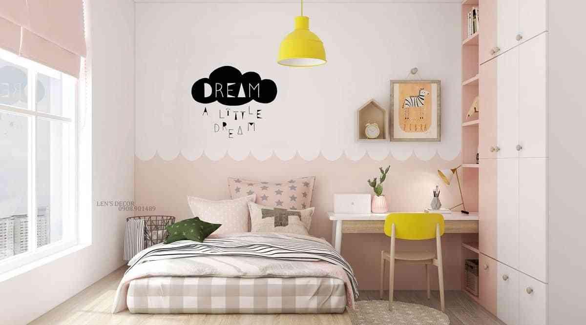 40 thiết kế nội thất trẻ em màu hồng