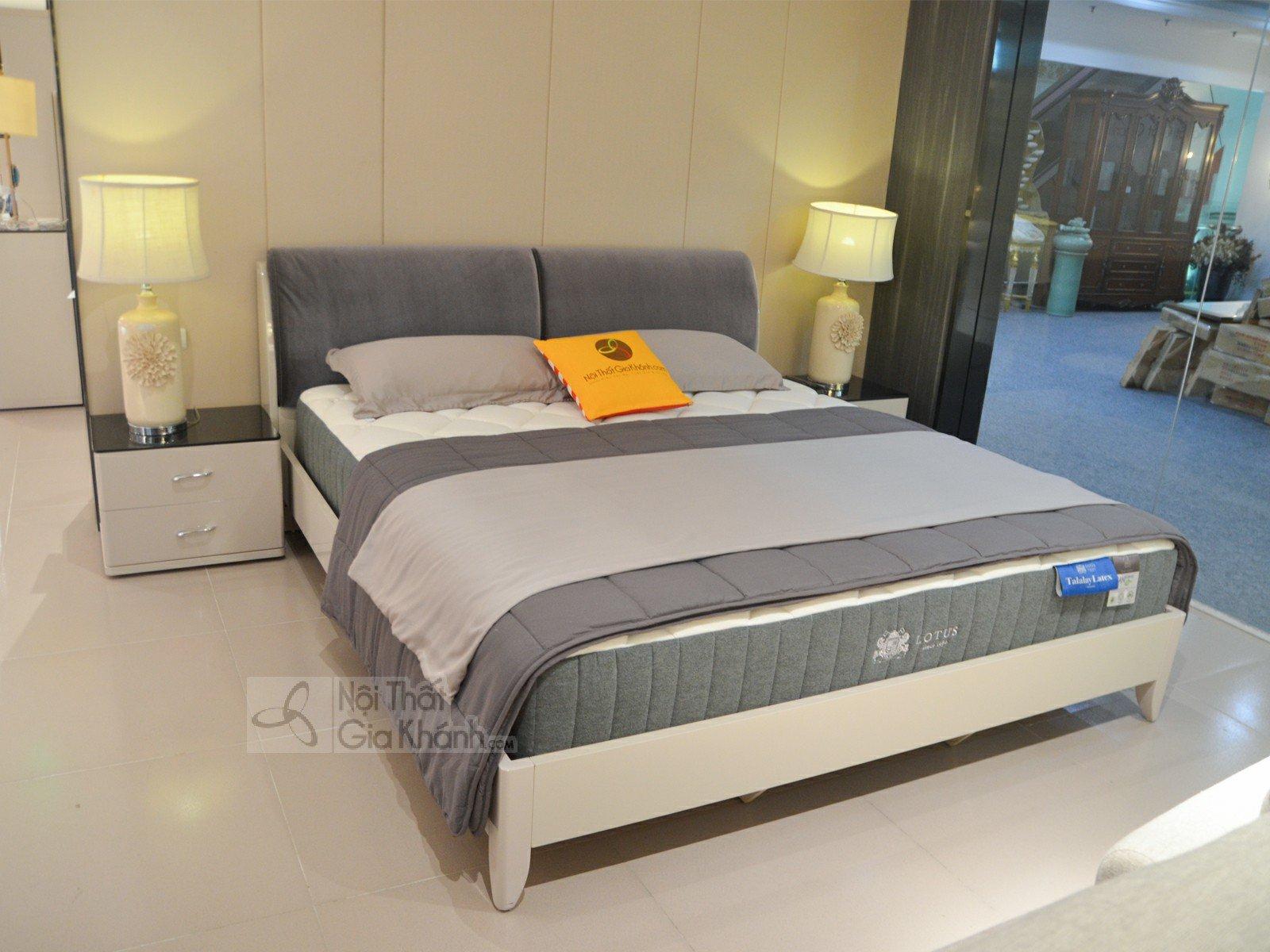 Giường Ngủ Hiện Đại Đầu Bọc Nỉ Nhung Cao Cấp 3306AL - giuong ngu hien dai 3306AL 1