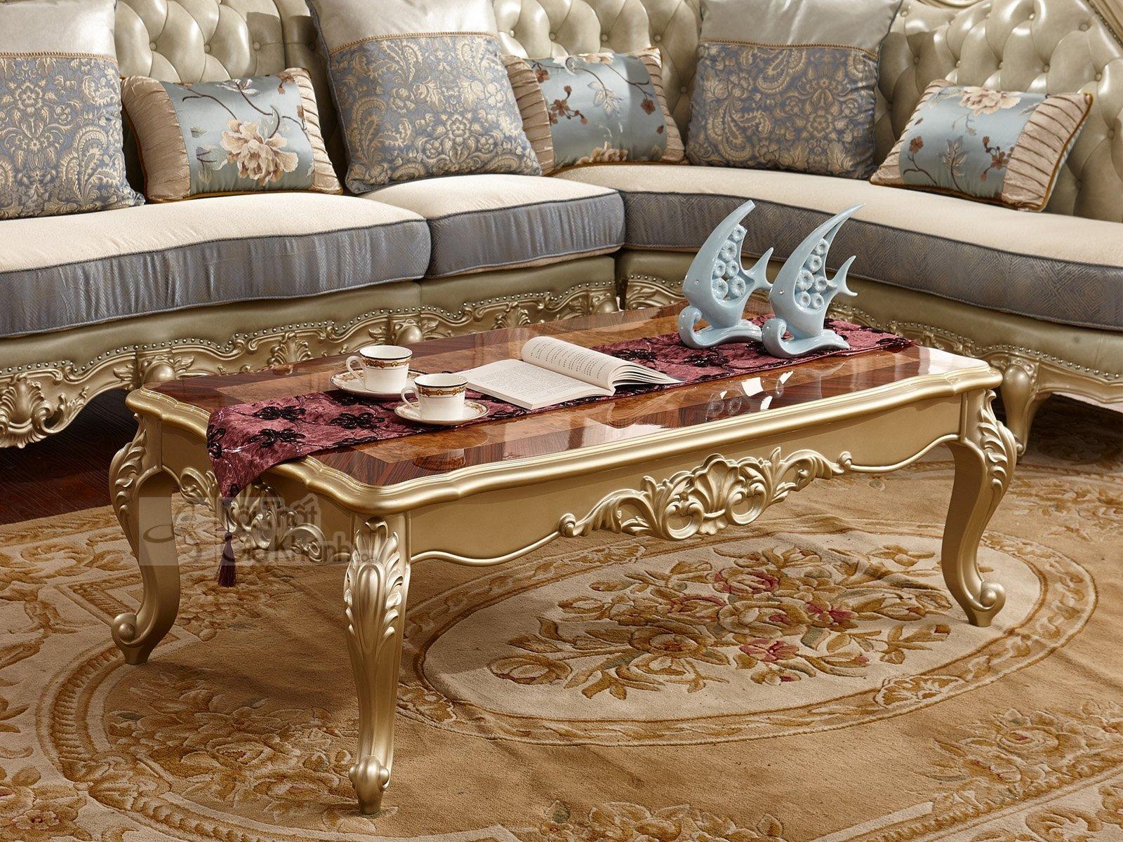 Bàn trà (Bàn Sofa) gỗ tân cổ điển sang trọng GK8801BT1.4