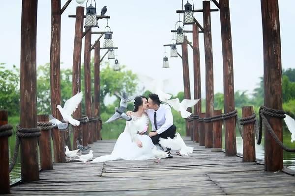 Phim trường chụp ảnh cưới đẹp ở hà nội - happy land