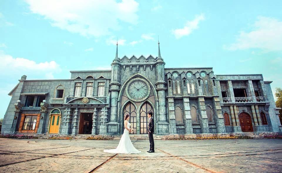 Phim trường chụp ảnh cưới đẹp ở hà nội - homeland
