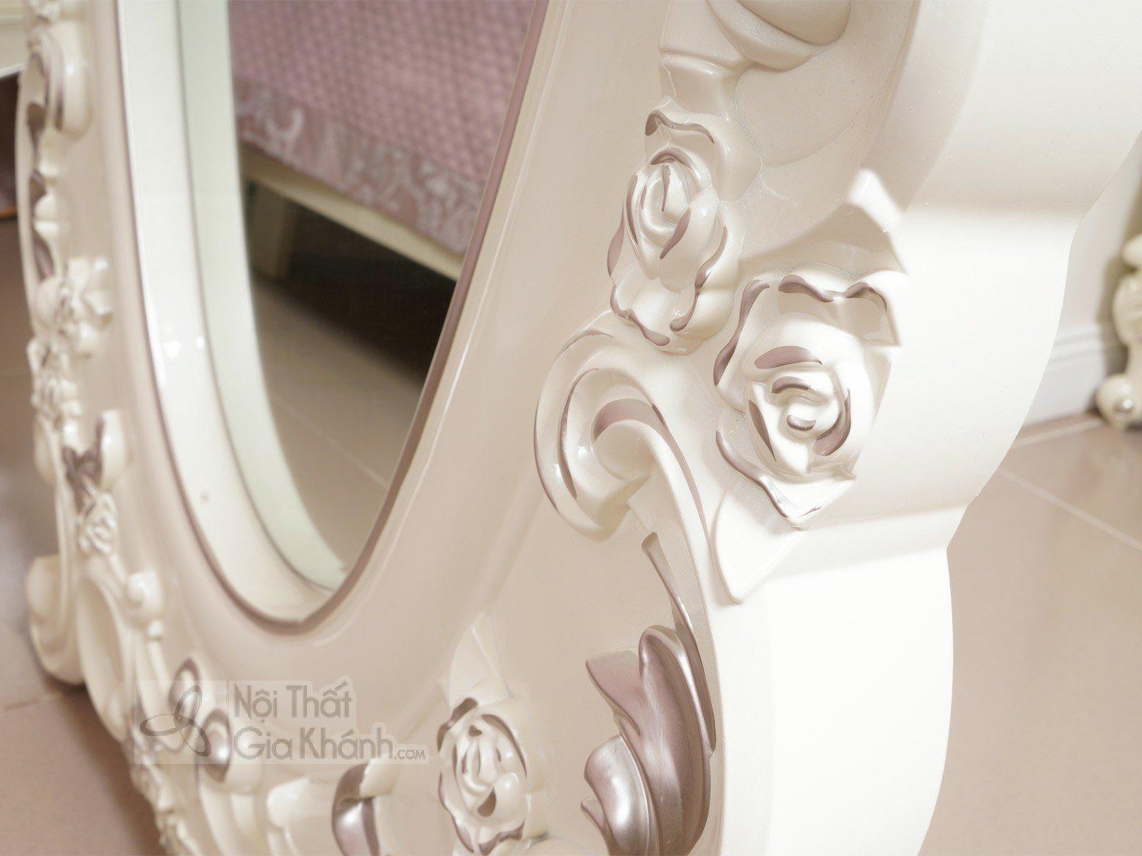 Kệ gương đứng độc đáo, phong cách Pháp H8801KG - ke guong dung phong ngu tan co dien H8801KG 695x70x1720 2