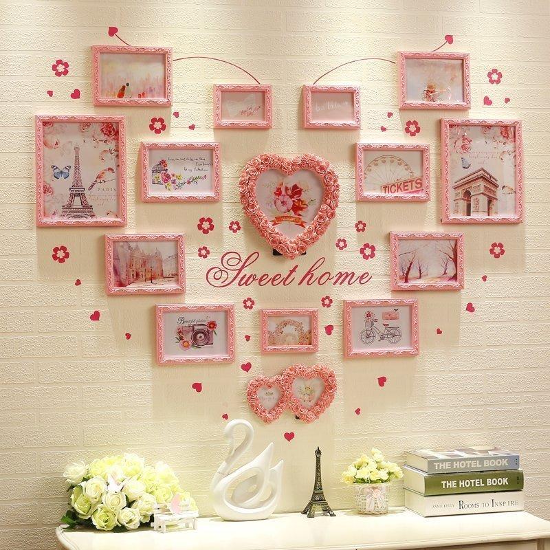 10 mẫu khung ảnh trang trí phòng cưới đẹp cho phòng cô dâu chú rể - khung anh trang tri phong cuoi 1
