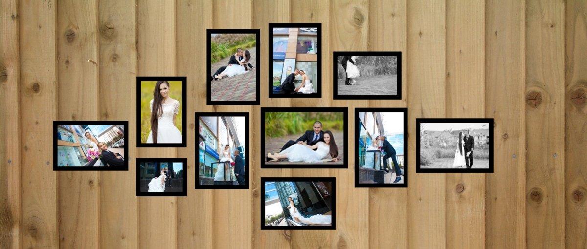 10 mẫu khung ảnh trang trí phòng cưới đẹp cho phòng cô dâu chú rể - khung anh trang tri phong cuoi 2