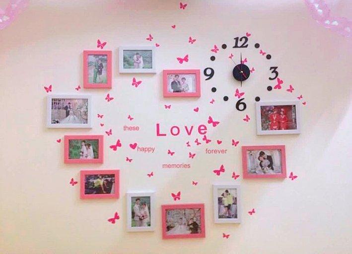 10 mẫu khung ảnh trang trí phòng cưới đẹp cho phòng cô dâu chú rể - khung anh trang tri phong cuoi 4