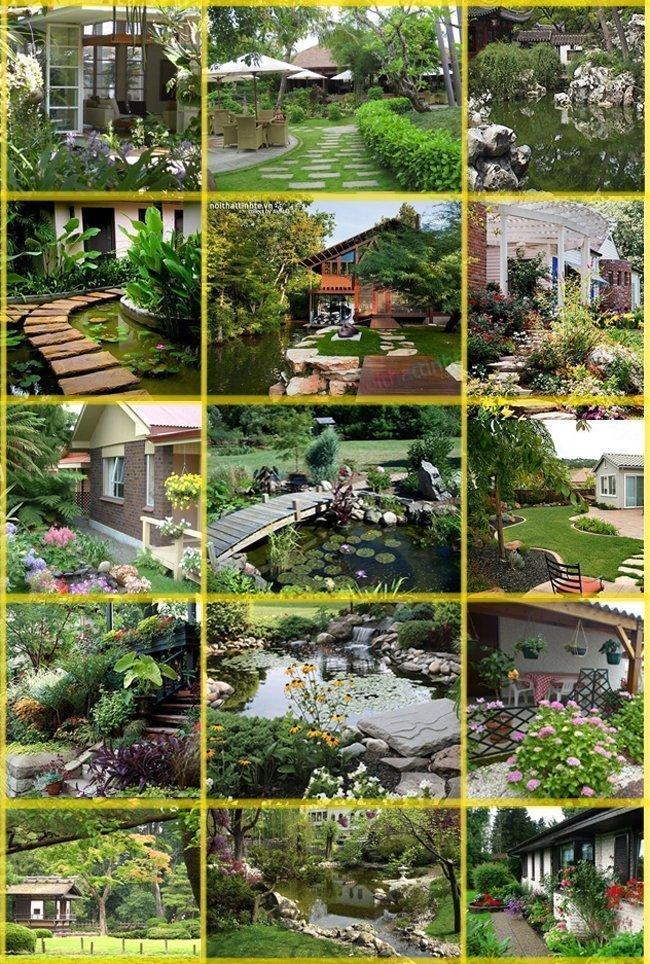 Những mẫu nhà vườn đẹp khó cưỡng - mau nha vuon dep 4