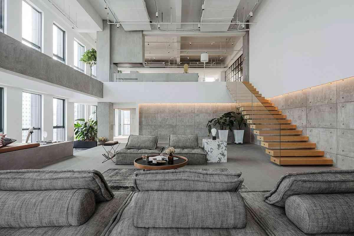 Thiết kế nội thất với không gian lớn - nha dep 7