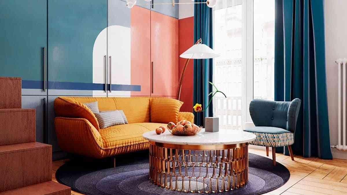 Không gian nội thất với thiết kế hiện đại - noi that 1 3