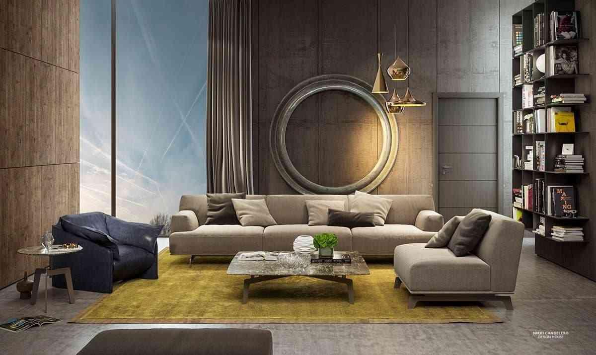 Các mẫu thiết kế nội thất phòng khách đẹp - noi that 2 2