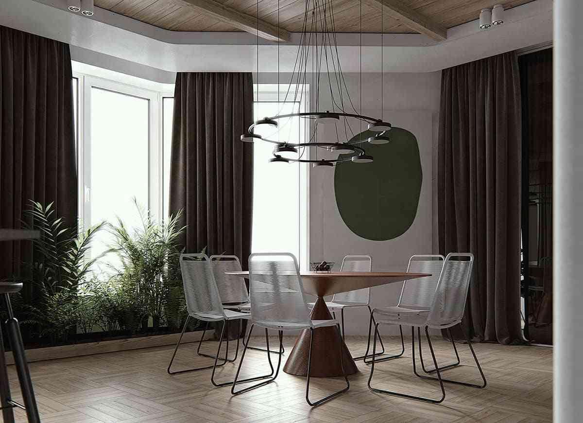 Thiết kế căn hộ hiện đại trong mơ - noi that 27