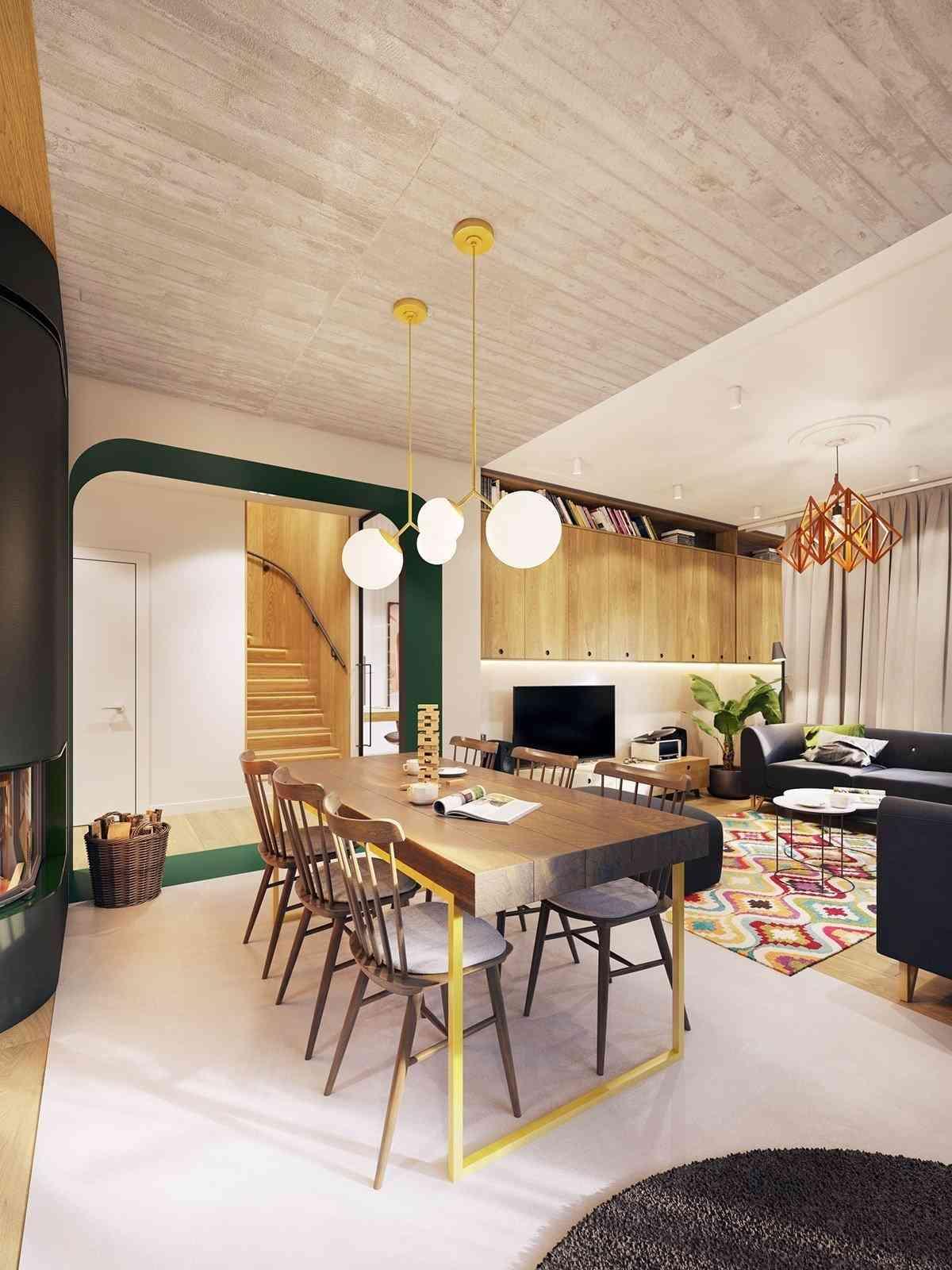 Thiết kế nội thất nổi bật hơn cho ngôi nhà hiện đại - noi that 32