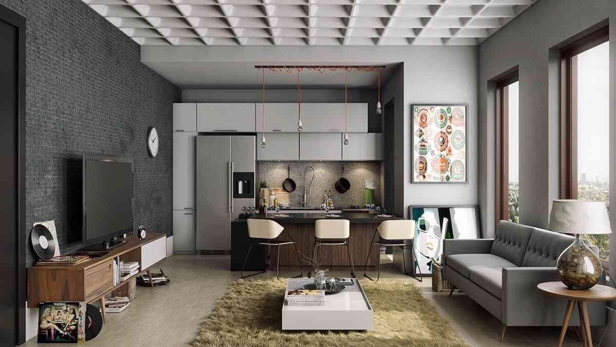 12 mẫu thiết kế phòng khách độc đáo năm 2018 - noi that hien dai 1