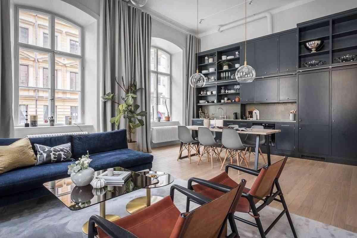 15 xu hướng thiết kế phòng khách với không gian nhỏ - noi that hien dai 2