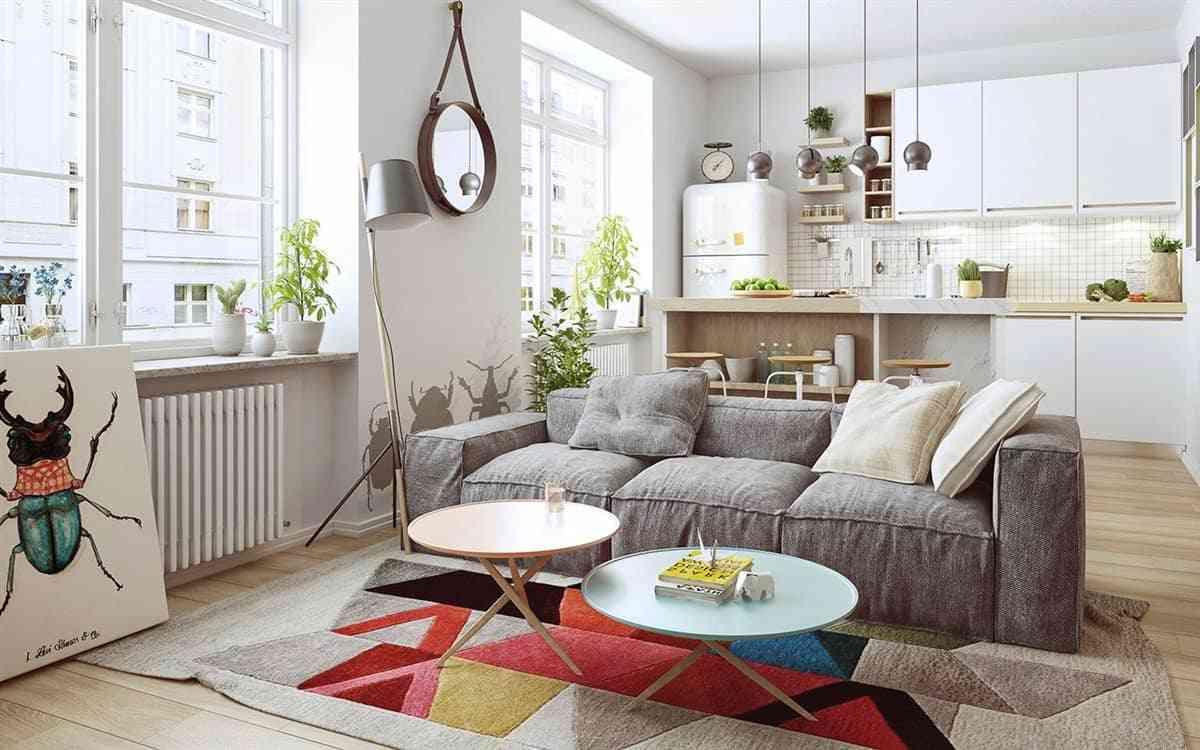 Thiết kế nội thất phòng khách - noi that nha o 2