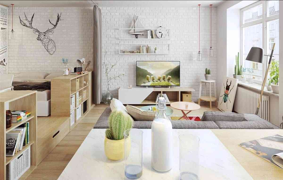 Thiết kế nội thất phòng khách - noi that nha o 3 1