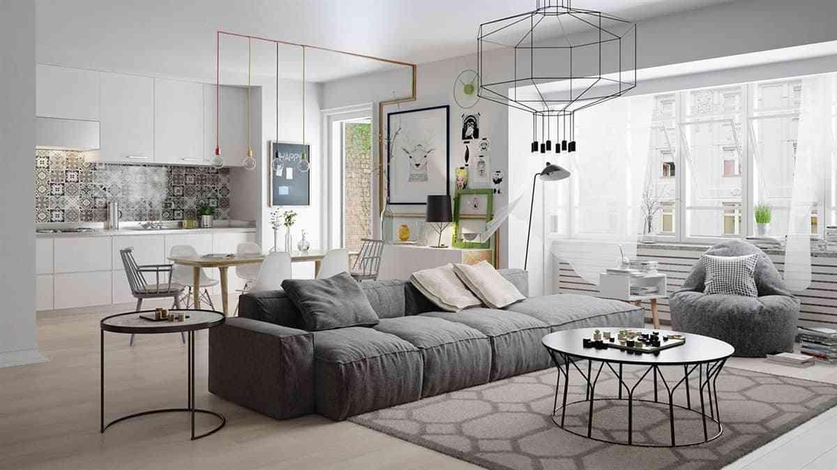 Thiết kế nội thất phòng khách - noi that nha o 5 2