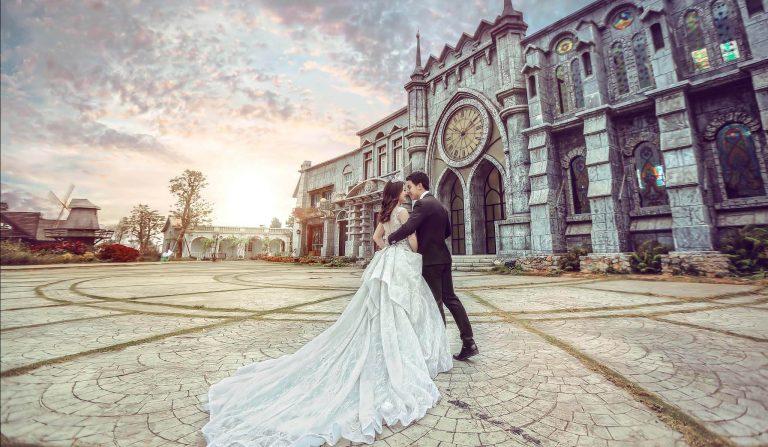 Phim trường chụp ảnh cưới đẹp ở hà nội - phim truong smilley ville 1 1 768x447