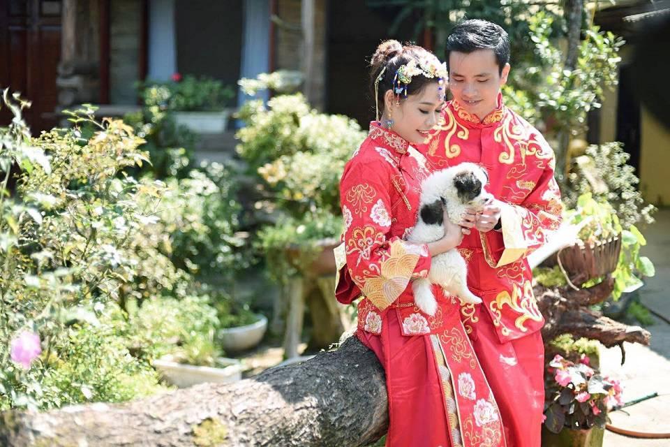 Áo cưới kiểu Trung Hoa có gì đặc biệt hơn các nơi khác - phong cach trung hoa