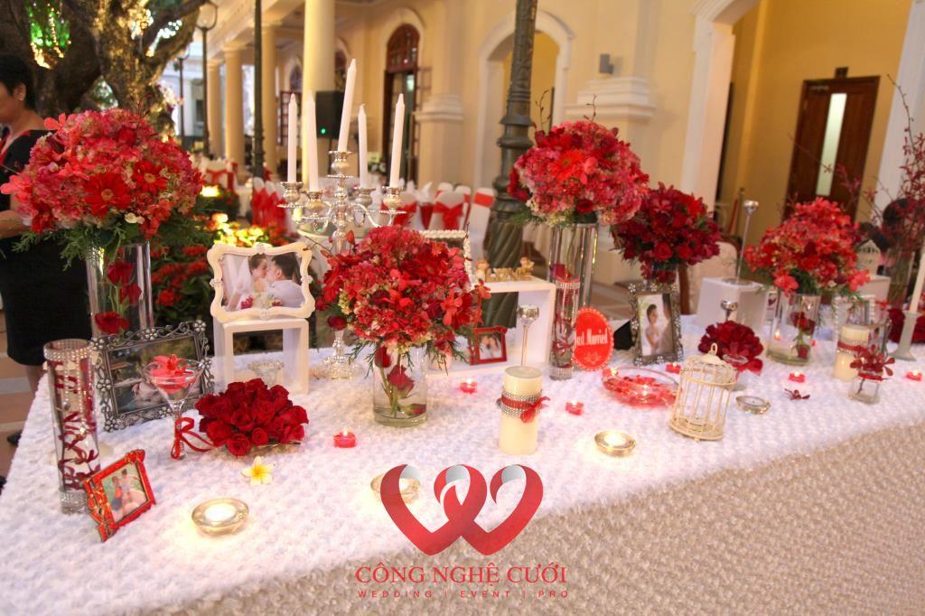 Cách trang trí bàn ăn gia đình và bàn ăn decor tiệc cưới trang trọng và đẹp - sac hong