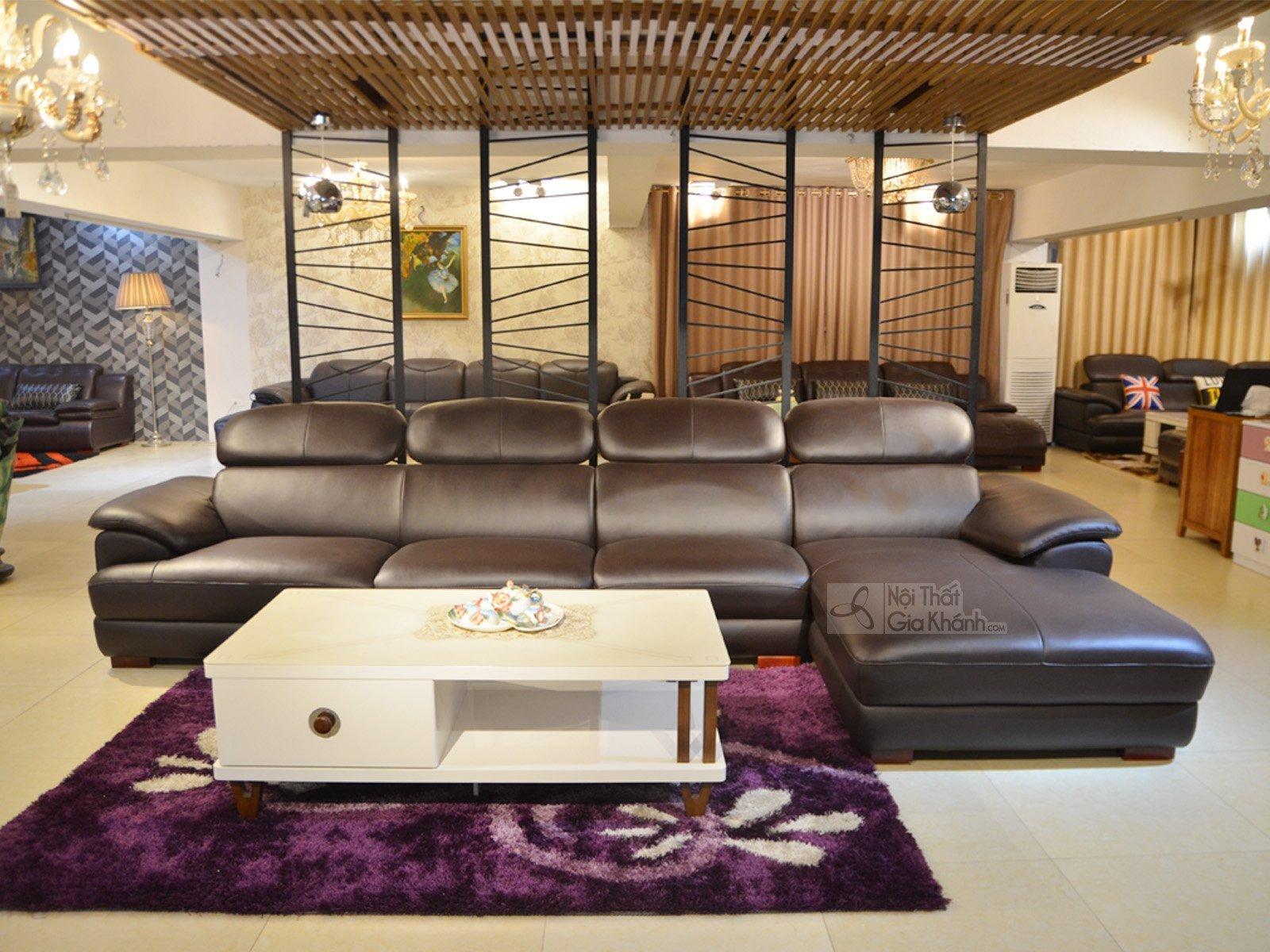 sofa da 9333SF 1 - Ghế sofa phòng khách hiện đại ST0933-3-A1