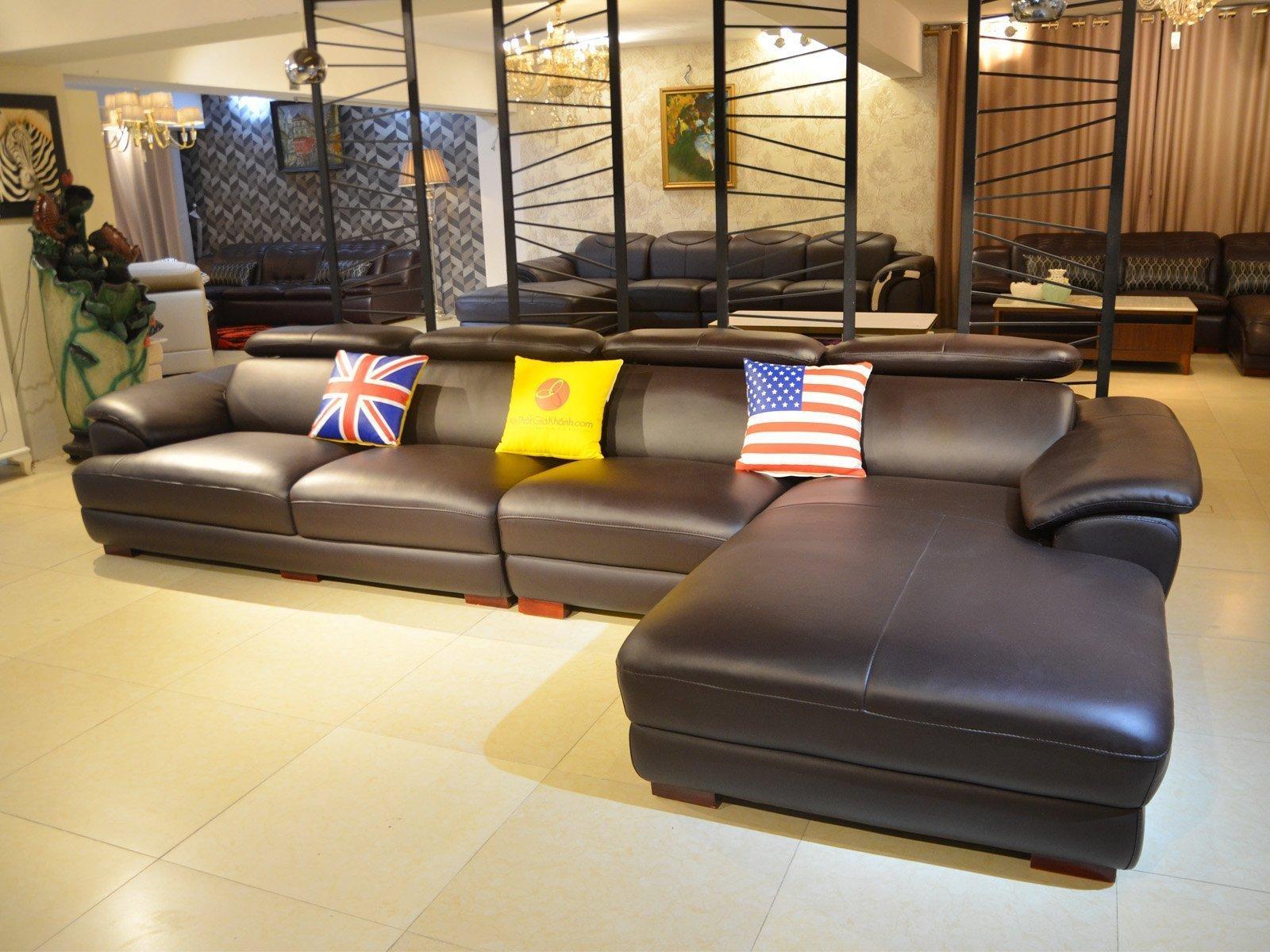 sofa da 9333SF 4 - Ghế sofa phòng khách hiện đại ST0933-3-A1