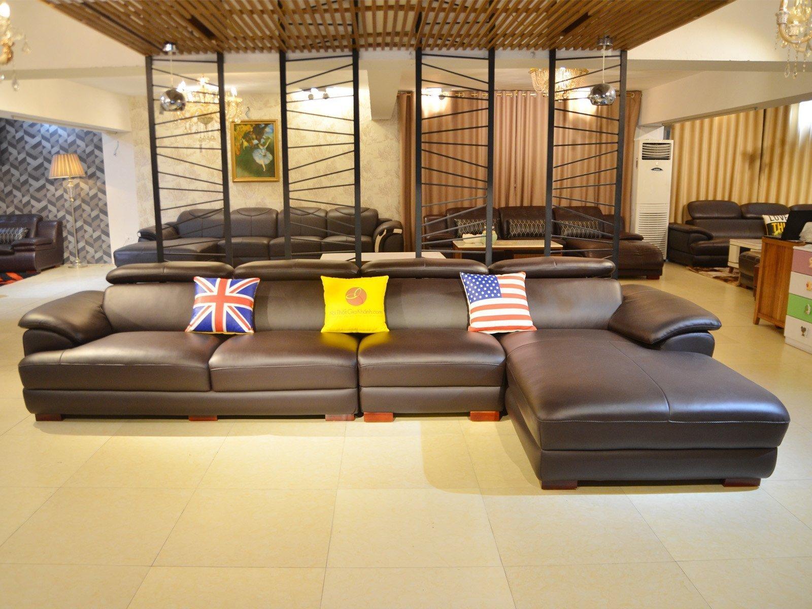 sofa da 9333SF 5 - Ghế sofa phòng khách hiện đại ST0933-3-A1