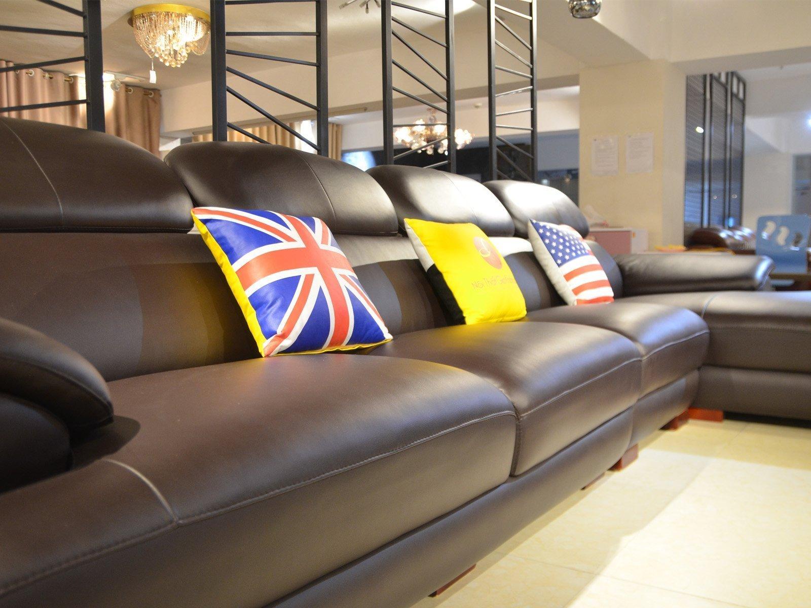 sofa da 9333SF 6 - Ghế sofa phòng khách hiện đại ST0933-3-A1